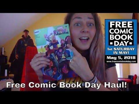 Free Comic Book Day 2018 Comic Book Haul | FCBD 2018
