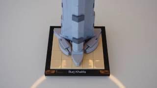 Burj  Khalifa Original and New Version - Lego Architecture