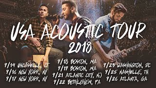 USA Acoustic Tour 2018 (East Coast) | Tickets On Sale | Boyce Avenue