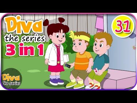 Seri Diva 3 in 1 | Kompilasi 3 Episode ~ Bagian 31 | Diva The Series Official