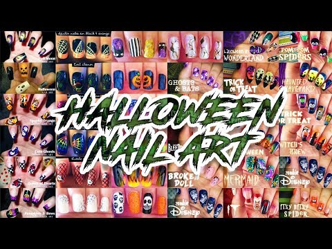 Halloween Nail Art Compilation // The Best Nail Art Designs Compilation 2018