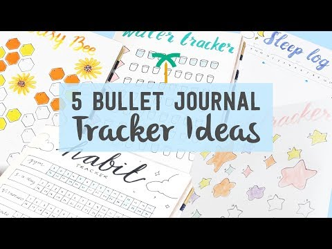 5 Bullet Journal Ideas for Tracking Daily Performance - Tracker Ideas  | Stationery Island