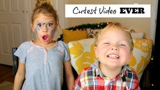 Little Brother Does Makeup! Cutest Video EVER!!!