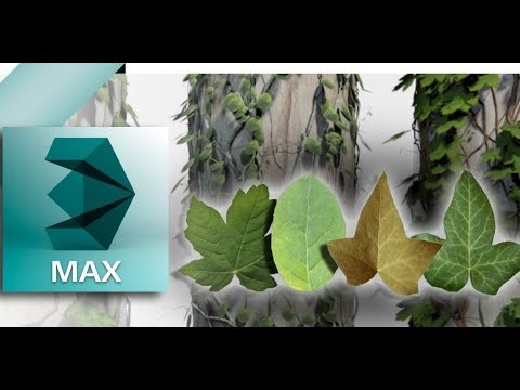 Download Grow Ivy Plugin For 3ds Max 2010-18 with more ivy leaf texture