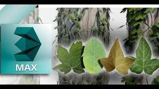 Download Grow Ivy Plugin For 3ds Max 2010-18 with more ivy leaf texture.