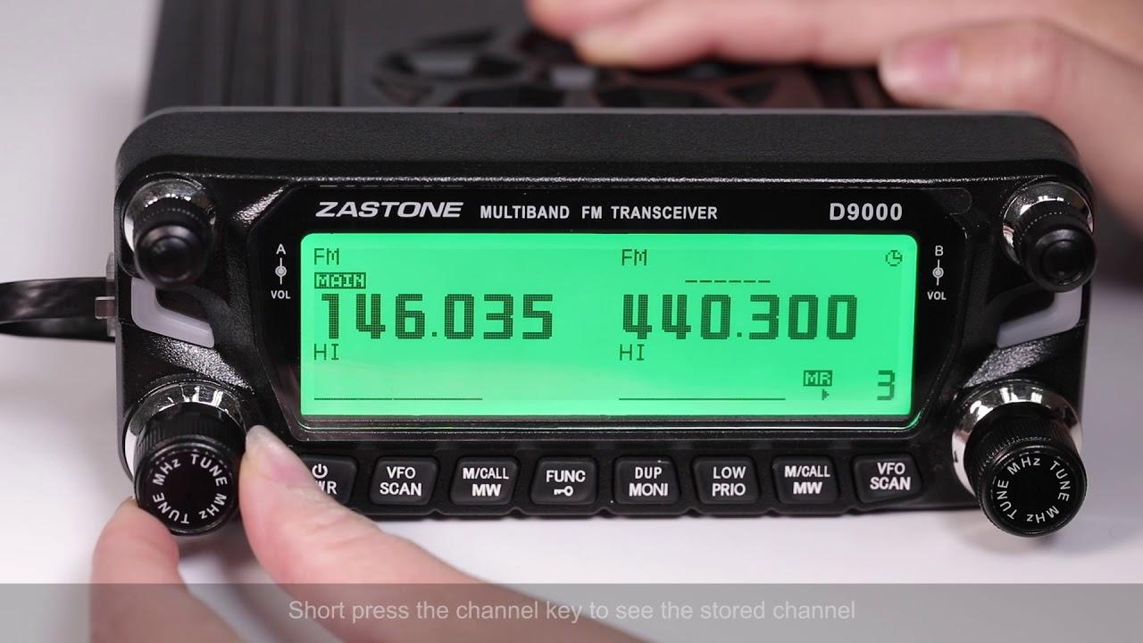 Schema Elettrico Walkie Talkie : Zastone d9000 car walkie talkie automatic relay settings youtube