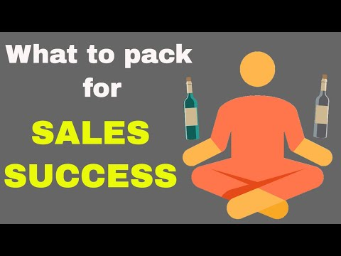 What to bring with you every day to succeed in wine sales