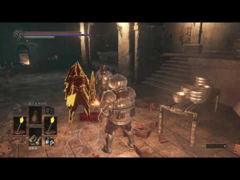 Dark Souls 3: Invading another world as mad dark spirit...#2
