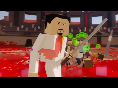 ГИГАНТЫ ЗАХВАТЫВАЮТ АРЕНУ, ЧЕЛЛЕНДЖ! - Paint The Town Red #6