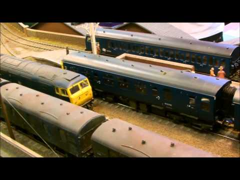 Burgess Hill Model Railway Exhibition 2015 (HD)