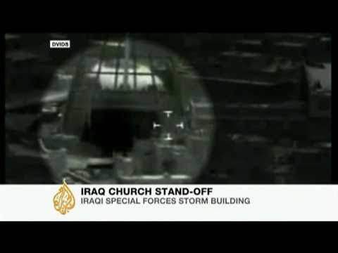 Dozens killed in Baghdad church