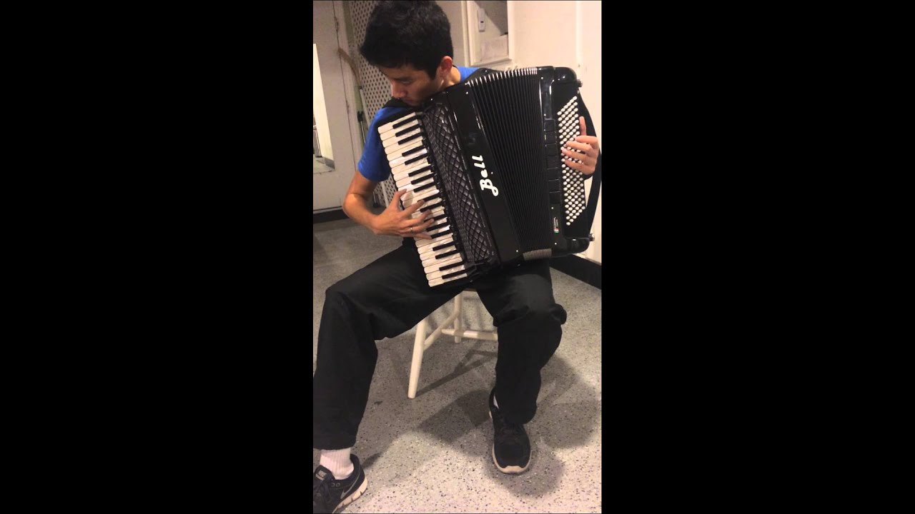 Dark Eyes - Russian folk song on accordion - YouTube
