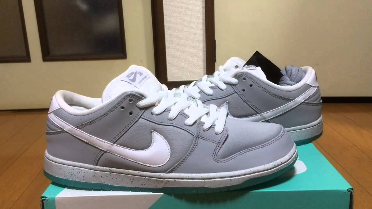 9e39f468442a ... discount nike dunk low premium sb air mag bttf review on feet youtube  78904 339ef