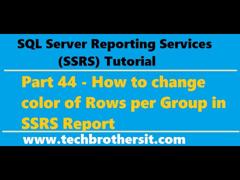 how to change ssrs report sturctre