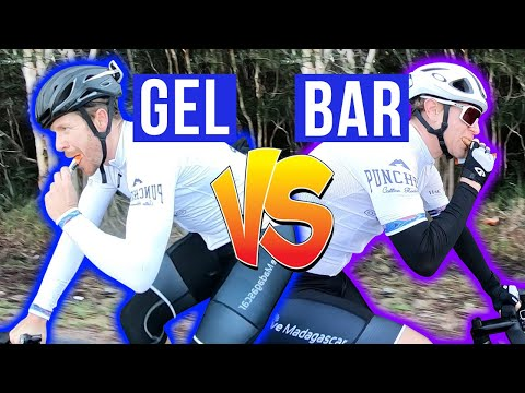 GELS VS BARS for Cycling (What's Best?)