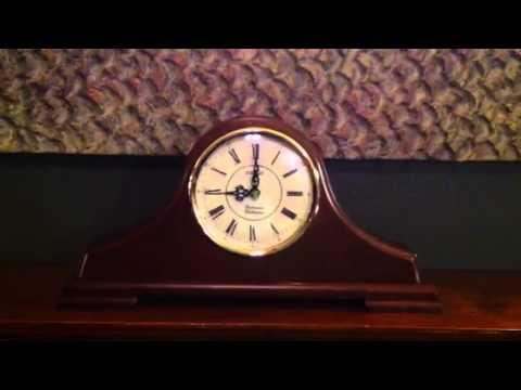 Seiko QXJ008BLH Mantel Clock