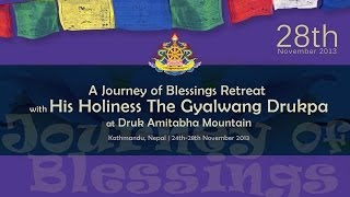 28th Nov - Anniversary of the First Gyalwang Drukpa (100,000 Ganachakra Offering - part2)