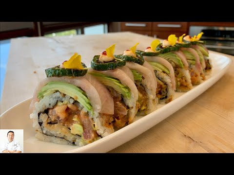 Hamachi Jalapeo Roll | How To Make Sushi Series