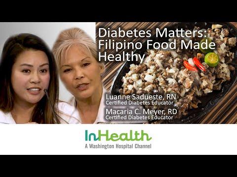 Diabetes Matters: Filipino Food Made Healthy