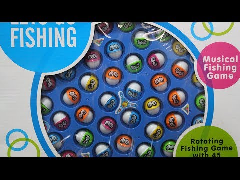 Children Toy Rowan Tyre Musical Fishing game