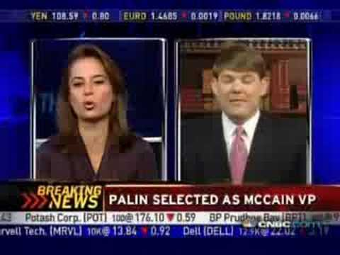 Ben Ferguson defends Sarah Palin on CNBC