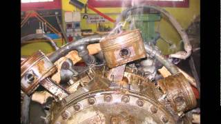 Pratt & Whitney R-4360 Wasp Major   and    Continental R- 975 restoration