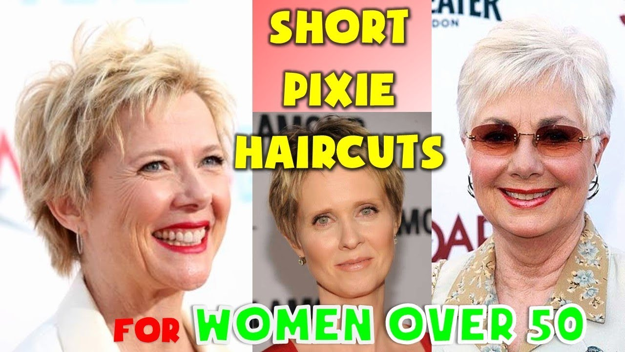 40 Best Short Pixie Haircuts For Women Over 50 2018 2019 Youtube