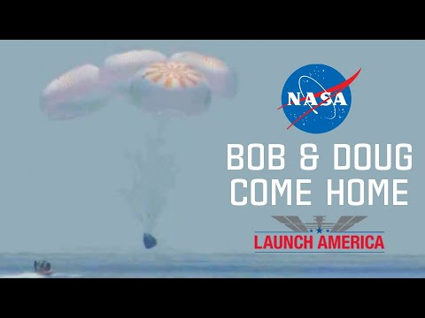 Splashdown Recap: Bob & Doug Come Home - NASA