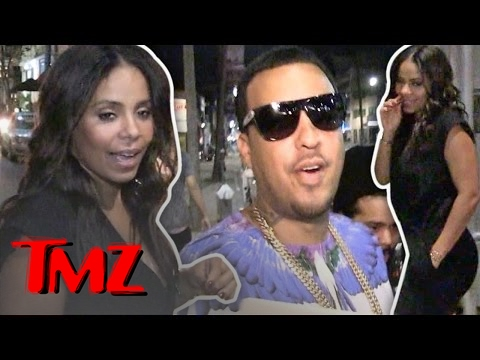 Sanaa Lathan Is Hookin' Up With French Montana?!?! | TMZ