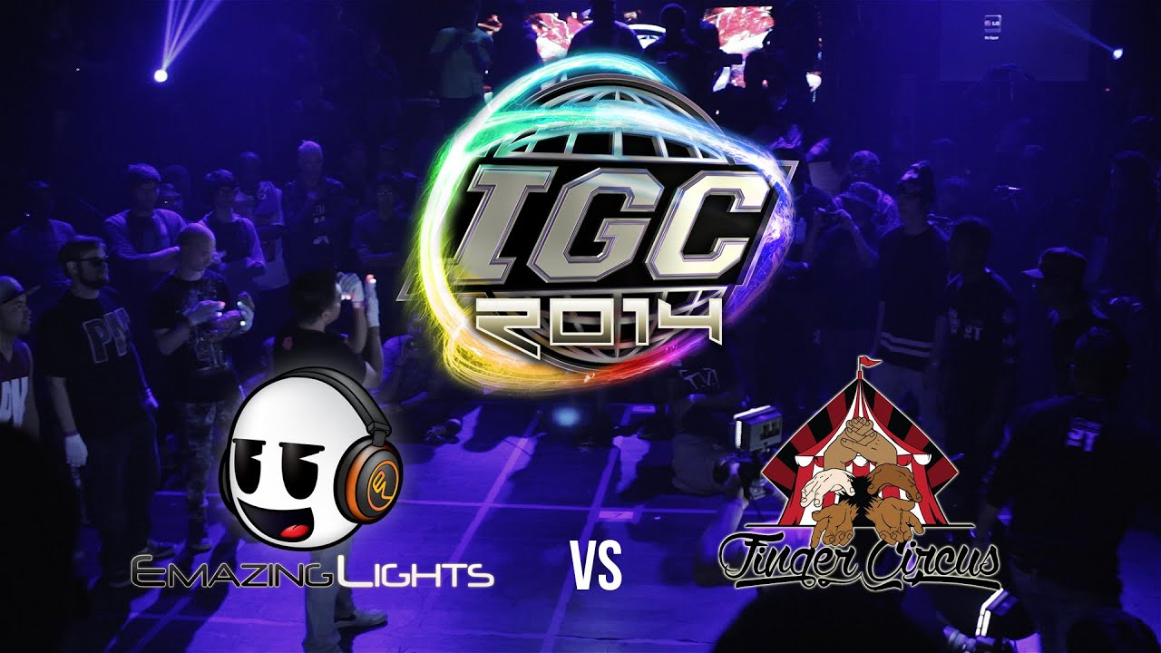 Amazing Lights Igc 2014 Emazing Vs Finger Circus Cypher Battle