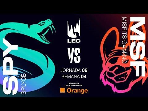 SPLYCE vs MISFITS | LEC | Spring Split [2019] League of Legends