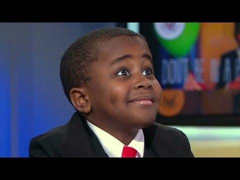 """""""Kid President"""" smiles through pain"""