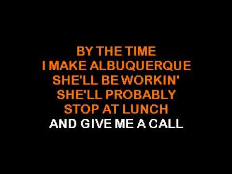 Glen Campbell - By The Time I Get To Phoenix [karaoke].mpg