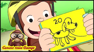 Curioso come George 🐵Aspettando il sole 🐵Cartoni Animati per Bambini 🐵George la scimmia