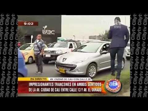 Indigenas de Sucrey Córdoba bloquean la avenida ciudad de Cali con calle  | City TV