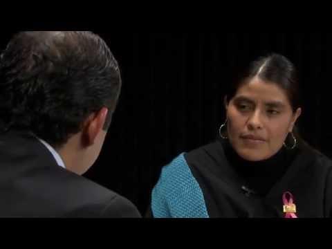 Entrevista Ernesto Cordero y Eufrosina Cruz Mendoza, diputada indígena. streaming vf