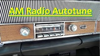 Demonstration: 65 Imperial Remote Radio Tune Floor Switch