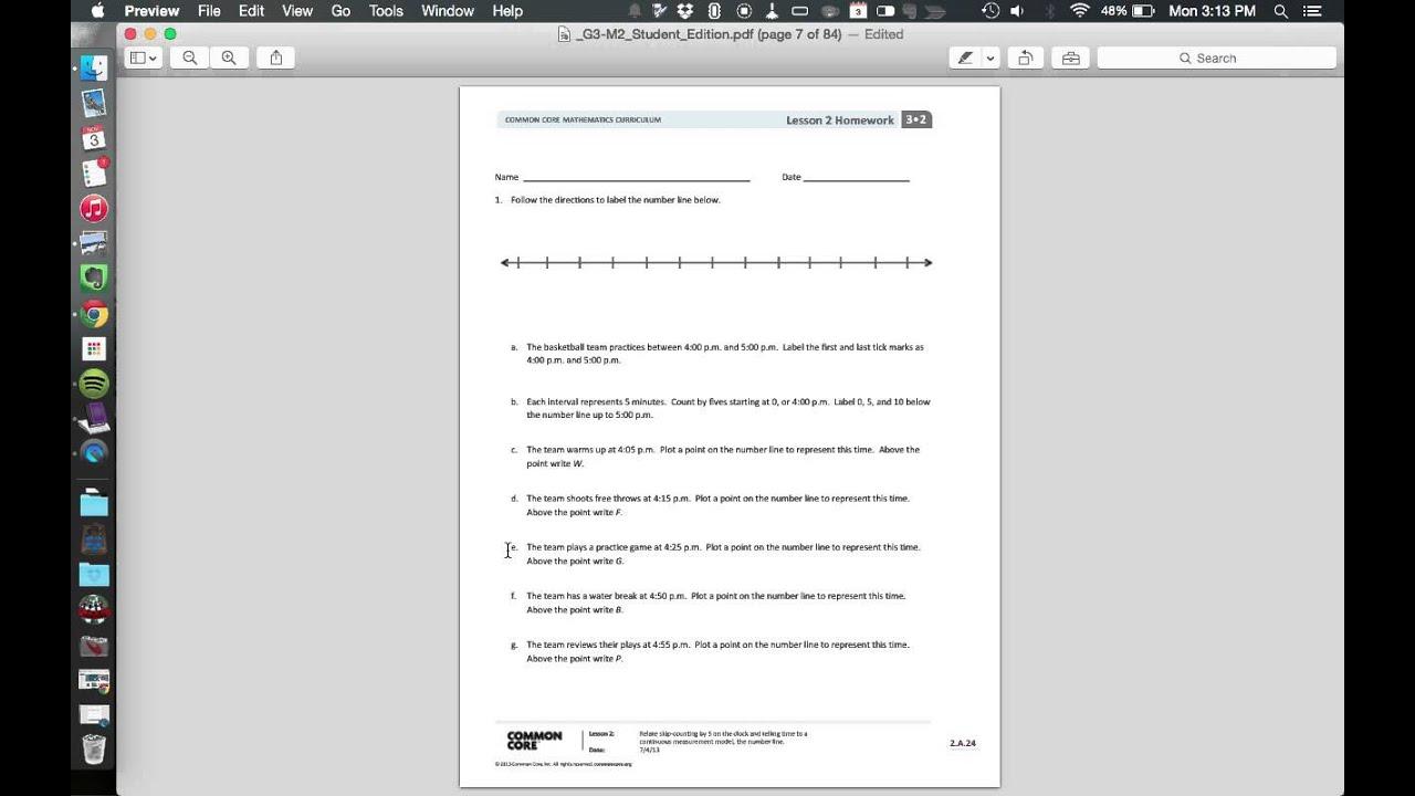 Grade 4 Mathematics Module Topic Lesson 2 Engageny - Year of
