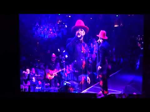 Boy George (Culture Club) - The King Of Everything - live - Honda Center - Anaheim CA - 1/26/18
