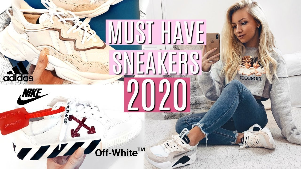 Reparación posible Barcelona Mula  MUST HAVE SNEAKERS 2020 / TRAINER COLLECTION - YouTube