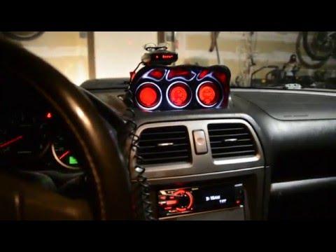 Custom 2006 WRX Interior tour - YouTube