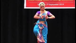 Ritika Reddy Kolan Bharatanatyam Dance Jatiswaram