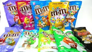 M&M's Super Candy Collection Unboxing Video Special Edition