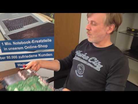Strombuchsendefekt am Beispiel eines ASUS Notebook K53 Laptops