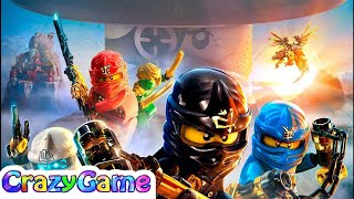 LEGO Ninjago Shadow of Ronin Full Game Movie in English - LEGO Movie Cartoon for Children & Kids