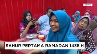 Ramadan Tiba, Begini Suasana Sahur Pertama di Jakarta!