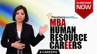 CAREERS IN MBA HUMAN RESOURCE.Go through the career opportunities o...