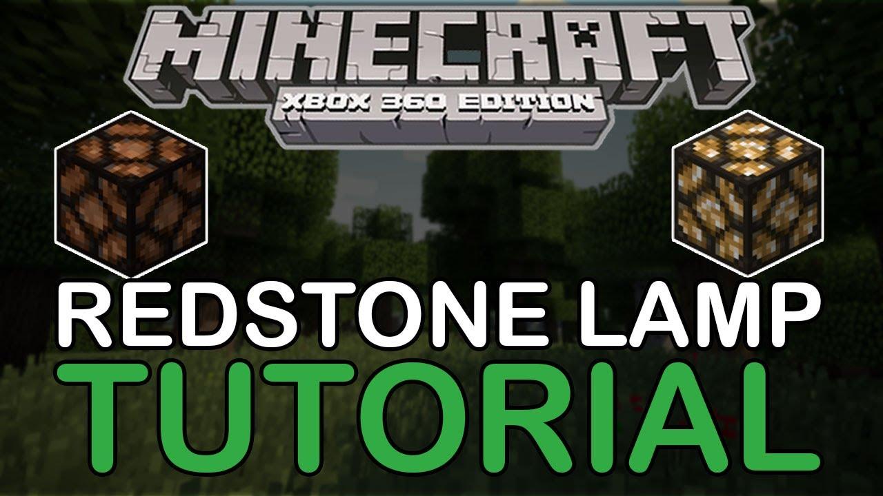 minecraft redstone lamp tutorial lighting systems runways rh youtube com Redstone Comparator Redstone Lamp Crafting