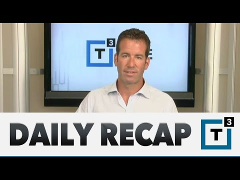 Daily Recap: A Down Tape Following Chinese Markets Dramatic Slide
