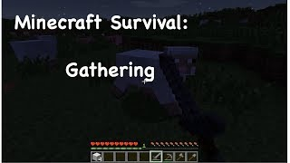 Minecraft Survival: gathering Thumbnail